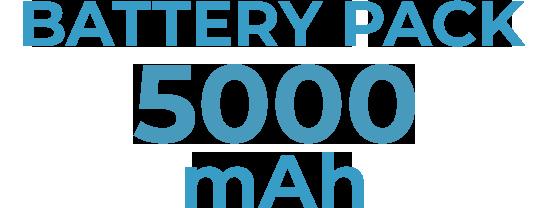 5000mAh
